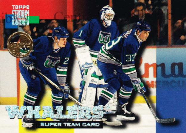 1994-95 Stadium Club Super Teams Members Only #10 Ted Crowley, Sean Burke<br/>1 In Stock - $5.00 each - <a href=https://centericecollectibles.foxycart.com/cart?name=1994-95%20Stadium%20Club%20Super%20Teams%20Members%20Only%20%2310%20Ted%20Crowley,%20Se...&quantity_max=1&price=$5.00&code=481714 class=foxycart> Buy it now! </a>