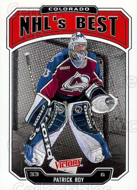 2000-01 UD Victory #292 Patrick Roy<br/>1 In Stock - $3.00 each - <a href=https://centericecollectibles.foxycart.com/cart?name=2000-01%20UD%20Victory%20%23292%20Patrick%20Roy...&price=$3.00&code=481794 class=foxycart> Buy it now! </a>