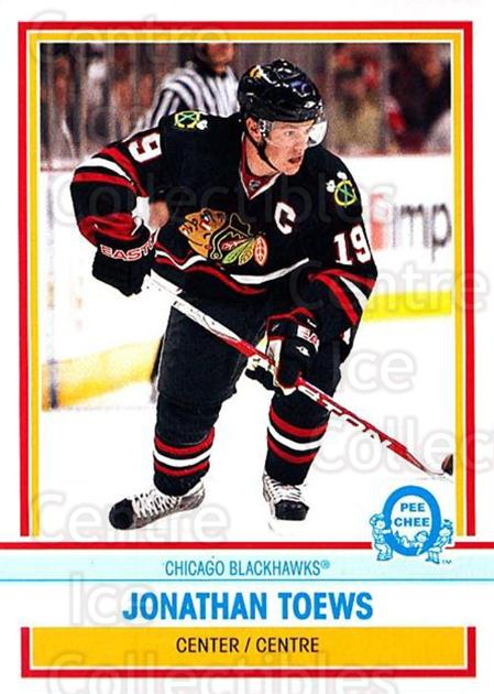 2009-10 O-pee-chee Retro #19 Jonathan Toews<br/>1 In Stock - $3.00 each - <a href=https://centericecollectibles.foxycart.com/cart?name=2009-10%20O-pee-chee%20Retro%20%2319%20Jonathan%20Toews...&quantity_max=1&price=$3.00&code=482307 class=foxycart> Buy it now! </a>