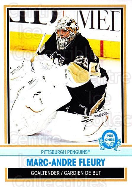 2009-10 O-pee-chee Retro #147 Marc-Andre Fleury<br/>2 In Stock - $3.00 each - <a href=https://centericecollectibles.foxycart.com/cart?name=2009-10%20O-pee-chee%20Retro%20%23147%20Marc-Andre%20Fleu...&quantity_max=2&price=$3.00&code=482435 class=foxycart> Buy it now! </a>