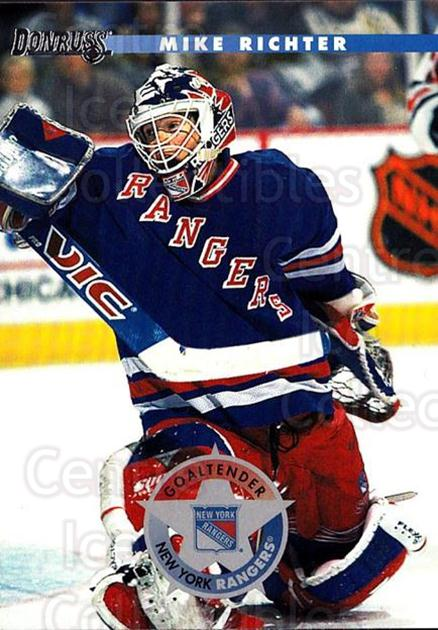 1996-97 Donruss #184 Mike Richter<br/>6 In Stock - $1.00 each - <a href=https://centericecollectibles.foxycart.com/cart?name=1996-97%20Donruss%20%23184%20Mike%20Richter...&quantity_max=6&price=$1.00&code=48259 class=foxycart> Buy it now! </a>