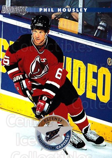 1996-97 Donruss #201 Phil Housley<br/>6 In Stock - $1.00 each - <a href=https://centericecollectibles.foxycart.com/cart?name=1996-97%20Donruss%20%23201%20Phil%20Housley...&quantity_max=6&price=$1.00&code=48279 class=foxycart> Buy it now! </a>