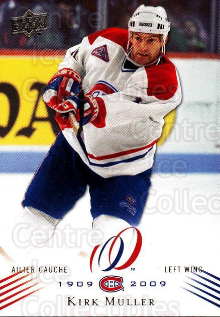 2008-09 Upper Deck Montreal Canadiens Centennial #66 Kirk Muller<br/>3 In Stock - $2.00 each - <a href=https://centericecollectibles.foxycart.com/cart?name=2008-09%20Upper%20Deck%20Montreal%20Canadiens%20Centennial%20%2366%20Kirk%20Muller...&quantity_max=3&price=$2.00&code=483007 class=foxycart> Buy it now! </a>
