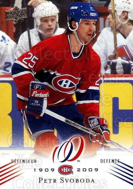 2008-09 Upper Deck Montreal Canadiens Centennial #139 Petr Svoboda<br/>2 In Stock - $2.00 each - <a href=https://centericecollectibles.foxycart.com/cart?name=2008-09%20Upper%20Deck%20Montreal%20Canadiens%20Centennial%20%23139%20Petr%20Svoboda...&quantity_max=2&price=$2.00&code=483080 class=foxycart> Buy it now! </a>