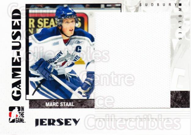 2007-08 ITG Heroes and Prospects Jersey #9 Marc Staal<br/>2 In Stock - $5.00 each - <a href=https://centericecollectibles.foxycart.com/cart?name=2007-08%20ITG%20Heroes%20and%20Prospects%20Jersey%20%239%20Marc%20Staal...&quantity_max=2&price=$5.00&code=483419 class=foxycart> Buy it now! </a>