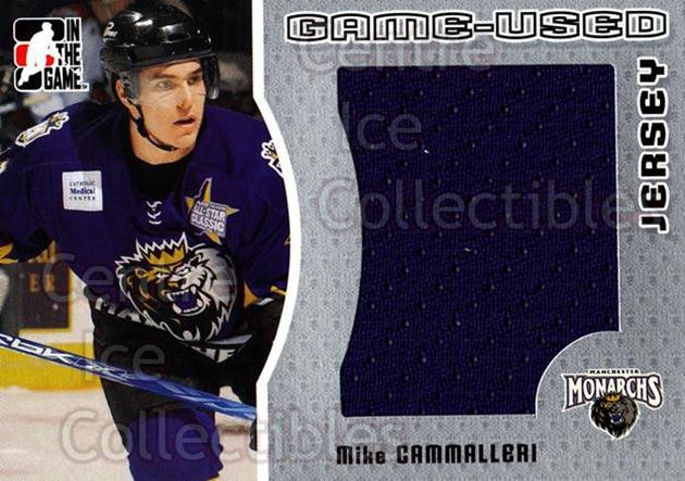 2005-06 ITG Heroes and Prospects Jersey Silver #6 Mike Cammalleri<br/>1 In Stock - $5.00 each - <a href=https://centericecollectibles.foxycart.com/cart?name=2005-06%20ITG%20Heroes%20and%20Prospects%20Jersey%20Silver%20%236%20Mike%20Cammalleri...&quantity_max=1&price=$5.00&code=483668 class=foxycart> Buy it now! </a>