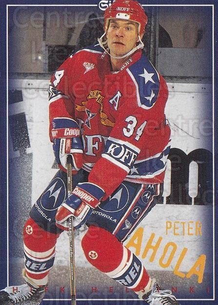 1996-97 Finnish SISU Redline #3 Peter Ahola<br/>1 In Stock - $2.00 each - <a href=https://centericecollectibles.foxycart.com/cart?name=1996-97%20Finnish%20SISU%20Redline%20%233%20Peter%20Ahola...&quantity_max=1&price=$2.00&code=48480 class=foxycart> Buy it now! </a>