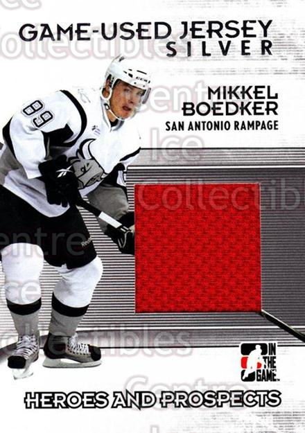 2009-10 ITG Heroes and Prospects Jersey Silver #47 Mikkel Boedker<br/>2 In Stock - $10.00 each - <a href=https://centericecollectibles.foxycart.com/cart?name=2009-10%20ITG%20Heroes%20and%20Prospects%20Jersey%20Silver%20%2347%20Mikkel%20Boedker...&price=$10.00&code=485420 class=foxycart> Buy it now! </a>