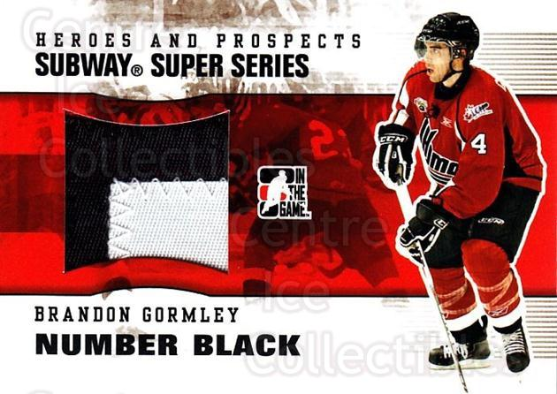 2009-10 ITG Heroes and Prospects Subway Number Black #6 Brandon Gormley<br/>1 In Stock - $20.00 each - <a href=https://centericecollectibles.foxycart.com/cart?name=2009-10%20ITG%20Heroes%20and%20Prospects%20Subway%20Number%20Black%20%236%20Brandon%20Gormley...&quantity_max=1&price=$20.00&code=485705 class=foxycart> Buy it now! </a>