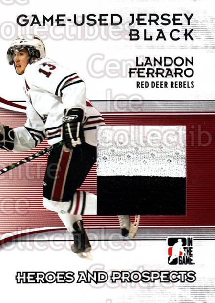 2009-10 ITG Heroes and Prospects Jersey Black #30 Landon Ferraro<br/>2 In Stock - $5.00 each - <a href=https://centericecollectibles.foxycart.com/cart?name=2009-10%20ITG%20Heroes%20and%20Prospects%20Jersey%20Black%20%2330%20Landon%20Ferraro...&price=$5.00&code=485817 class=foxycart> Buy it now! </a>