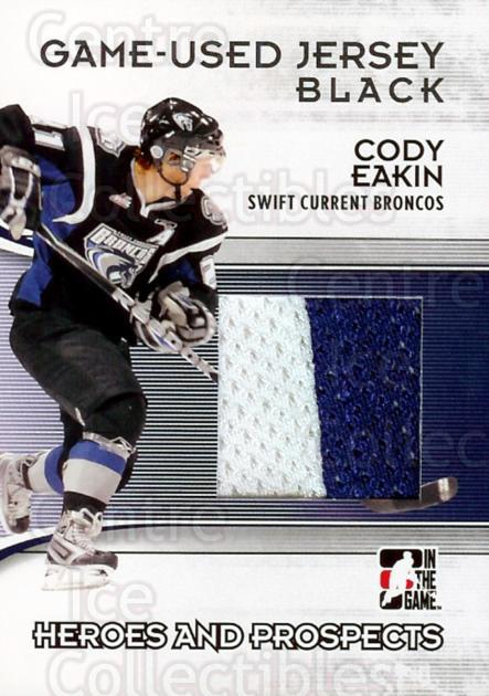 2009-10 ITG Heroes and Prospects Jersey Black #39 Cody Eakin<br/>1 In Stock - $5.00 each - <a href=https://centericecollectibles.foxycart.com/cart?name=2009-10%20ITG%20Heroes%20and%20Prospects%20Jersey%20Black%20%2339%20Cody%20Eakin...&quantity_max=1&price=$5.00&code=485826 class=foxycart> Buy it now! </a>
