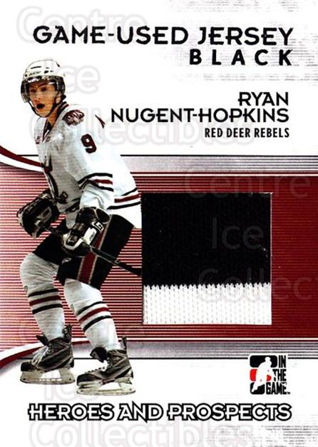 2009-10 ITG Heroes and Prospects Jersey Black #50 Ryan Nugent-Hopkins<br/>2 In Stock - $10.00 each - <a href=https://centericecollectibles.foxycart.com/cart?name=2009-10%20ITG%20Heroes%20and%20Prospects%20Jersey%20Black%20%2350%20Ryan%20Nugent-Hop...&price=$10.00&code=485837 class=foxycart> Buy it now! </a>