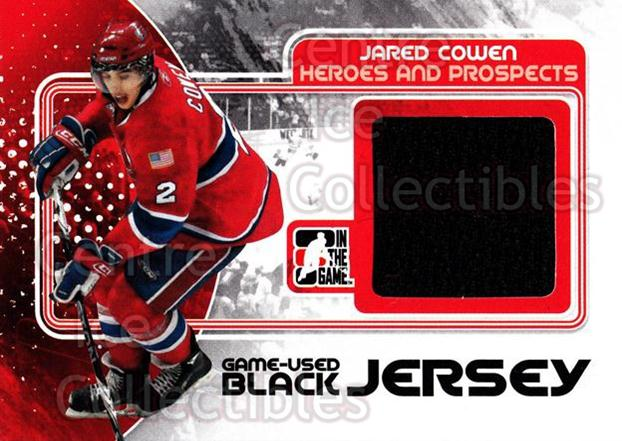 2010-11 ITG Heroes and Prospects Jersey Black #17 Jared Cowen<br/>1 In Stock - $5.00 each - <a href=https://centericecollectibles.foxycart.com/cart?name=2010-11%20ITG%20Heroes%20and%20Prospects%20Jersey%20Black%20%2317%20Jared%20Cowen...&quantity_max=1&price=$5.00&code=485857 class=foxycart> Buy it now! </a>