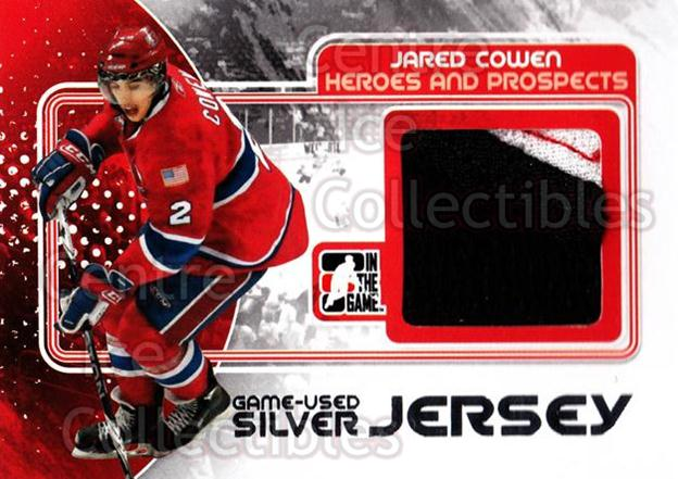 2010-11 ITG Heroes and Prospects Jersey Silver #17 Jared Cowen<br/>1 In Stock - $10.00 each - <a href=https://centericecollectibles.foxycart.com/cart?name=2010-11%20ITG%20Heroes%20and%20Prospects%20Jersey%20Silver%20%2317%20Jared%20Cowen...&quantity_max=1&price=$10.00&code=485917 class=foxycart> Buy it now! </a>