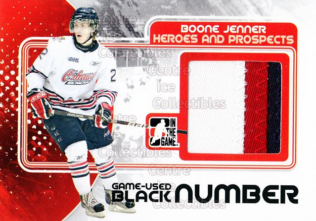 <a href=index.aspx?SetName=2010-11%20ITG%20Heroes%20and%20Prospects%20Jersey%20Number%20Black>2010-11 ITG Heroes and Prospects Jersey Number Black</a> #56 <a href=index.aspx?PlayerName=Boone%20Jenner> Boone Jenner</a><br/>1 in stock - $15.00 each - <a href=https://centericecollectibles.foxycart.com/cart?name=2010-11%20ITG%20Heroes%20and%20Prospects%20Jersey%20Number%20Black%20%2356%20Boone%20Jenner...&price=$15.00&code=486152 class=foxycart> Buy it now! </a>