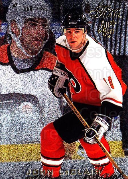 1996-97 Flair #69 John LeClair<br/>5 In Stock - $1.00 each - <a href=https://centericecollectibles.foxycart.com/cart?name=1996-97%20Flair%20%2369%20John%20LeClair...&quantity_max=5&price=$1.00&code=48625 class=foxycart> Buy it now! </a>