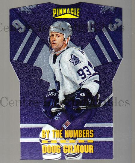1996-97 Pinnacle By The Numbers #7 Doug Gilmour<br/>1 In Stock - $5.00 each - <a href=https://centericecollectibles.foxycart.com/cart?name=1996-97%20Pinnacle%20By%20The%20Numbers%20%237%20Doug%20Gilmour...&quantity_max=1&price=$5.00&code=486877 class=foxycart> Buy it now! </a>
