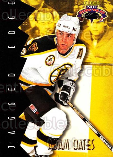 1996-97 Fleer Picks Jagged Edge #15 Adam Oates<br/>2 In Stock - $2.00 each - <a href=https://centericecollectibles.foxycart.com/cart?name=1996-97%20Fleer%20Picks%20Jagged%20Edge%20%2315%20Adam%20Oates...&quantity_max=2&price=$2.00&code=48713 class=foxycart> Buy it now! </a>