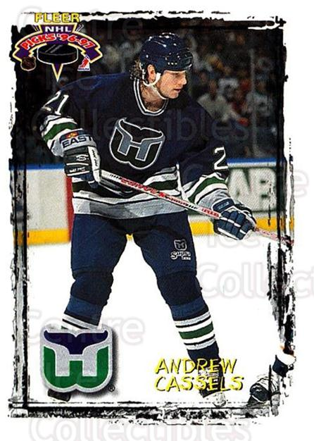 1996-97 Fleer Picks #104 Andrew Cassels<br/>4 In Stock - $1.00 each - <a href=https://centericecollectibles.foxycart.com/cart?name=1996-97%20Fleer%20Picks%20%23104%20Andrew%20Cassels...&quantity_max=4&price=$1.00&code=48723 class=foxycart> Buy it now! </a>