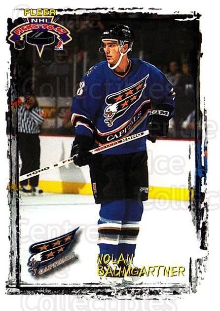 1996-97 Fleer Picks #168 Nolan Baumgartner<br/>5 In Stock - $1.00 each - <a href=https://centericecollectibles.foxycart.com/cart?name=1996-97%20Fleer%20Picks%20%23168%20Nolan%20Baumgartn...&quantity_max=5&price=$1.00&code=48758 class=foxycart> Buy it now! </a>
