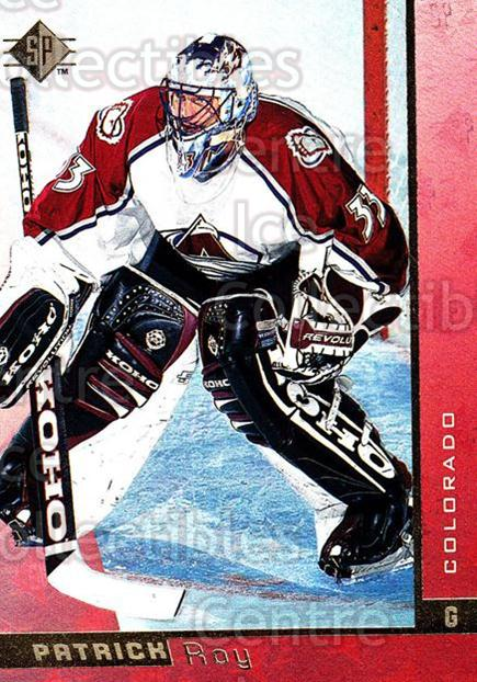1996-97 SP #35 Patrick Roy<br/>1 In Stock - $5.00 each - <a href=https://centericecollectibles.foxycart.com/cart?name=1996-97%20SP%20%2335%20Patrick%20Roy...&price=$5.00&code=487827 class=foxycart> Buy it now! </a>