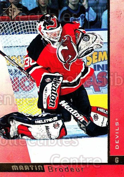 1996-97 SP #86 Martin Brodeur<br/>2 In Stock - $2.00 each - <a href=https://centericecollectibles.foxycart.com/cart?name=1996-97%20SP%20%2386%20Martin%20Brodeur...&price=$2.00&code=487832 class=foxycart> Buy it now! </a>