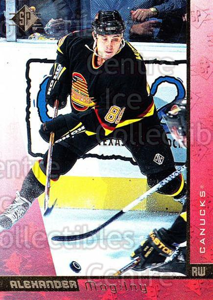 1996-97 SP #158 Alexander Mogilny<br/>2 In Stock - $1.00 each - <a href=https://centericecollectibles.foxycart.com/cart?name=1996-97%20SP%20%23158%20Alexander%20Mogil...&quantity_max=2&price=$1.00&code=487838 class=foxycart> Buy it now! </a>