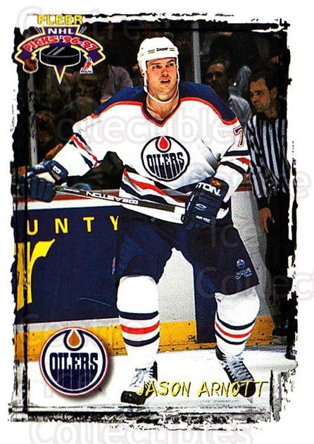 1996-97 Fleer Picks #58 Jason Arnott<br/>4 In Stock - $1.00 each - <a href=https://centericecollectibles.foxycart.com/cart?name=1996-97%20Fleer%20Picks%20%2358%20Jason%20Arnott...&quantity_max=4&price=$1.00&code=48789 class=foxycart> Buy it now! </a>