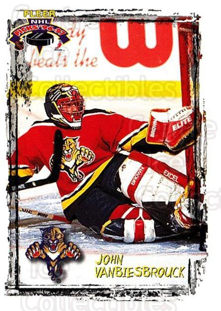 1996-97 Fleer Picks #88 John Vanbiesbrouck<br/>4 In Stock - $1.00 each - <a href=https://centericecollectibles.foxycart.com/cart?name=1996-97%20Fleer%20Picks%20%2388%20John%20Vanbiesbro...&quantity_max=4&price=$1.00&code=48806 class=foxycart> Buy it now! </a>