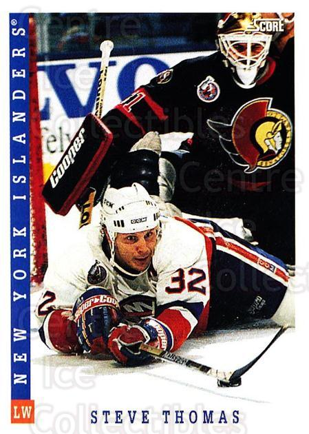 1993-94 Score Canadian #141 Steve Thomas<br/>4 In Stock - $1.00 each - <a href=https://centericecollectibles.foxycart.com/cart?name=1993-94%20Score%20Canadian%20%23141%20Steve%20Thomas...&quantity_max=4&price=$1.00&code=4880 class=foxycart> Buy it now! </a>