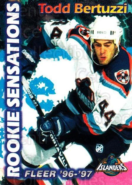 1996-97 Fleer Rookie Sensations #2 Todd Bertuzzi<br/>2 In Stock - $2.00 each - <a href=https://centericecollectibles.foxycart.com/cart?name=1996-97%20Fleer%20Rookie%20Sensations%20%232%20Todd%20Bertuzzi...&quantity_max=2&price=$2.00&code=48814 class=foxycart> Buy it now! </a>