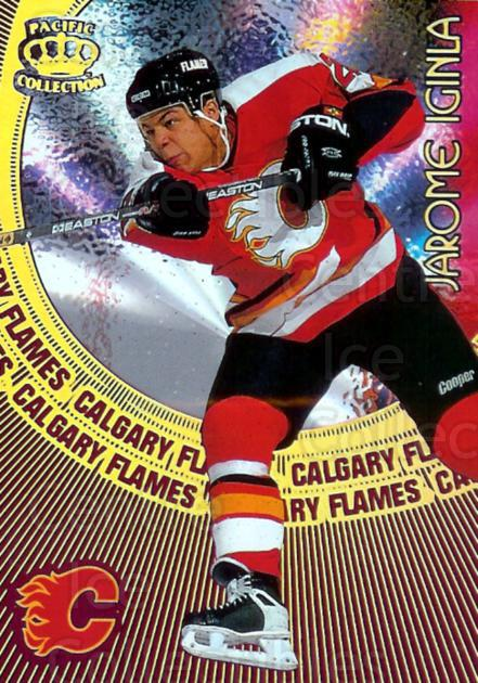 1997-98 Pacific Supials #3 Jarome Iginla<br/>1 In Stock - $3.00 each - <a href=https://centericecollectibles.foxycart.com/cart?name=1997-98%20Pacific%20Supials%20%233%20Jarome%20Iginla...&quantity_max=1&price=$3.00&code=488272 class=foxycart> Buy it now! </a>