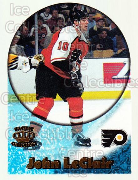 1997-98 Pacific Supials Mini #14 John LeClair<br/>3 In Stock - $3.00 each - <a href=https://centericecollectibles.foxycart.com/cart?name=1997-98%20Pacific%20Supials%20Mini%20%2314%20John%20LeClair...&quantity_max=3&price=$3.00&code=488295 class=foxycart> Buy it now! </a>