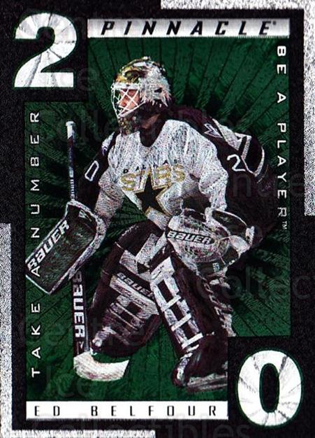 1997-98 Be A Player Take A Number #3 Ed Belfour<br/>1 In Stock - $5.00 each - <a href=https://centericecollectibles.foxycart.com/cart?name=1997-98%20Be%20A%20Player%20Take%20A%20Number%20%233%20Ed%20Belfour...&price=$5.00&code=488347 class=foxycart> Buy it now! </a>
