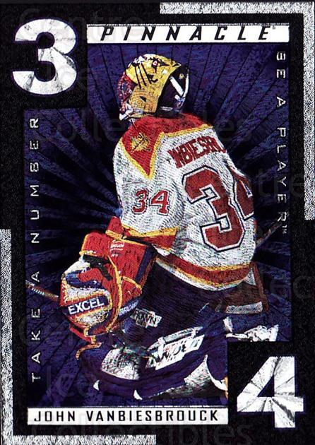 1997-98 Be A Player Take A Number #6 John Vanbiesbrouck<br/>2 In Stock - $3.00 each - <a href=https://centericecollectibles.foxycart.com/cart?name=1997-98%20Be%20A%20Player%20Take%20A%20Number%20%236%20John%20Vanbiesbro...&quantity_max=2&price=$3.00&code=488350 class=foxycart> Buy it now! </a>