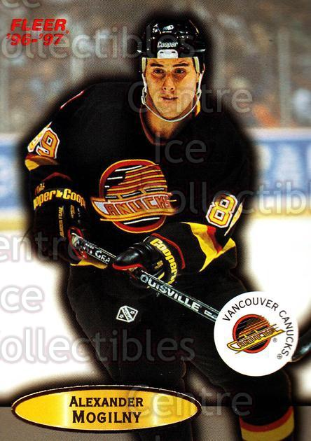 1996-97 Fleer #114 Alexander Mogilny<br/>6 In Stock - $1.00 each - <a href=https://centericecollectibles.foxycart.com/cart?name=1996-97%20Fleer%20%23114%20Alexander%20Mogil...&quantity_max=6&price=$1.00&code=48838 class=foxycart> Buy it now! </a>