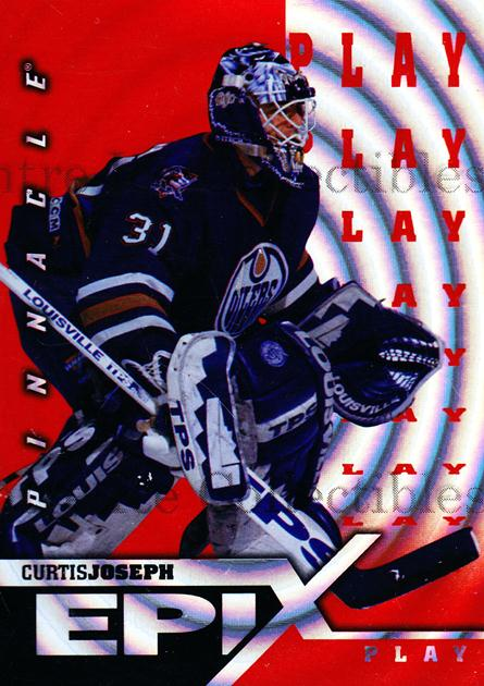 1997-98 Pinnacle Epix Play Orange #17 Curtis Joseph<br/>3 In Stock - $3.00 each - <a href=https://centericecollectibles.foxycart.com/cart?name=1997-98%20Pinnacle%20Epix%20Play%20Orange%20%2317%20Curtis%20Joseph...&quantity_max=3&price=$3.00&code=488673 class=foxycart> Buy it now! </a>
