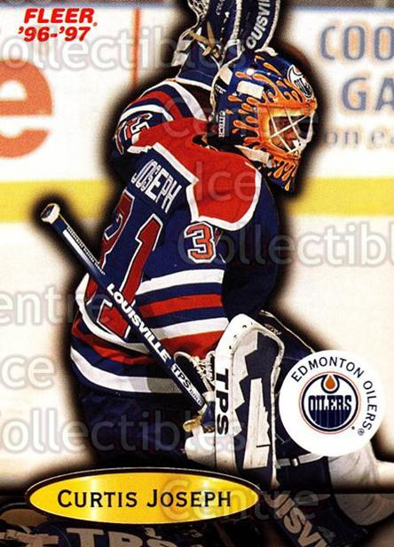 1996-97 Fleer #37 Curtis Joseph<br/>6 In Stock - $1.00 each - <a href=https://centericecollectibles.foxycart.com/cart?name=1996-97%20Fleer%20%2337%20Curtis%20Joseph...&quantity_max=6&price=$1.00&code=48895 class=foxycart> Buy it now! </a>