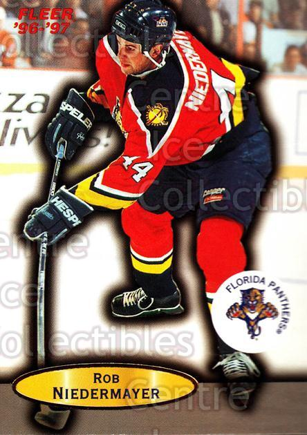 1996-97 Fleer #41 Rob Niedermayer<br/>6 In Stock - $1.00 each - <a href=https://centericecollectibles.foxycart.com/cart?name=1996-97%20Fleer%20%2341%20Rob%20Niedermayer...&quantity_max=6&price=$1.00&code=48900 class=foxycart> Buy it now! </a>