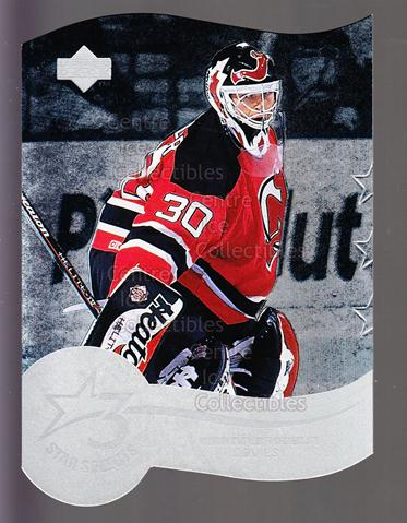 1997-98 Upper Deck Three Star Selects #10A Martin Brodeur<br/>1 In Stock - $5.00 each - <a href=https://centericecollectibles.foxycart.com/cart?name=1997-98%20Upper%20Deck%20Three%20Star%20Selects%20%2310A%20Martin%20Brodeur...&price=$5.00&code=489099 class=foxycart> Buy it now! </a>