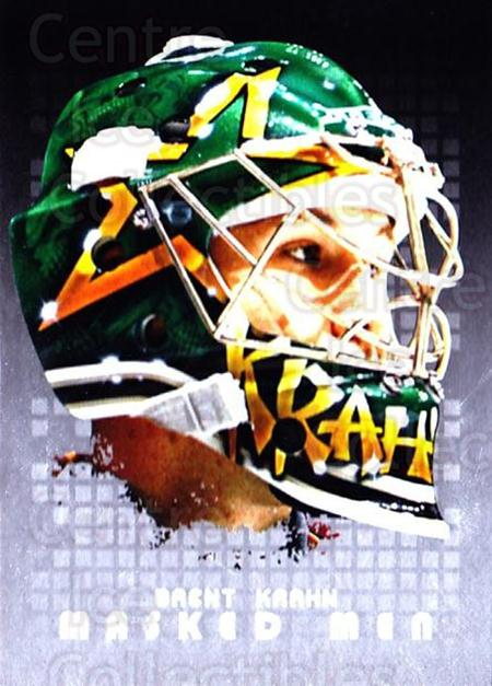 2008-09 Between The Pipes Masked Men #14 Brent Krahn<br/>1 In Stock - $5.00 each - <a href=https://centericecollectibles.foxycart.com/cart?name=2008-09%20Between%20The%20Pipes%20Masked%20Men%20%2314%20Brent%20Krahn...&quantity_max=1&price=$5.00&code=489169 class=foxycart> Buy it now! </a>