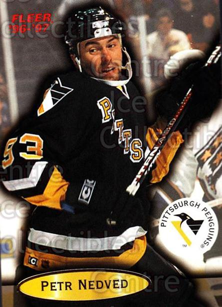 1996-97 Fleer #88 Petr Nedved<br/>5 In Stock - $1.00 each - <a href=https://centericecollectibles.foxycart.com/cart?name=1996-97%20Fleer%20%2388%20Petr%20Nedved...&quantity_max=5&price=$1.00&code=48948 class=foxycart> Buy it now! </a>
