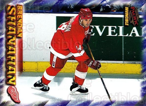 1997-98 Pacific Invincible NHL Regime #73 Brendan Shanahan<br/>1 In Stock - $1.00 each - <a href=https://centericecollectibles.foxycart.com/cart?name=1997-98%20Pacific%20Invincible%20NHL%20Regime%20%2373%20Brendan%20Shanaha...&quantity_max=1&price=$1.00&code=489508 class=foxycart> Buy it now! </a>