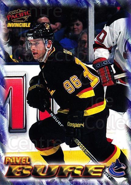 1997-98 Pacific Invincible NHL Regime #201 Pavel Bure<br/>1 In Stock - $3.00 each - <a href=https://centericecollectibles.foxycart.com/cart?name=1997-98%20Pacific%20Invincible%20NHL%20Regime%20%23201%20Pavel%20Bure...&quantity_max=1&price=$3.00&code=489521 class=foxycart> Buy it now! </a>