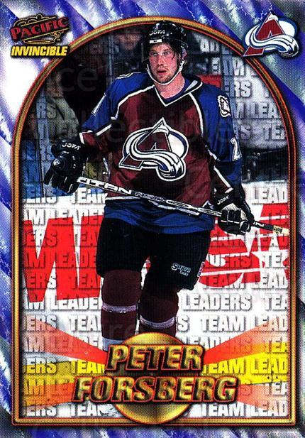 1997-98 Pacific Invincible NHL Regime #216 Peter Forsberg<br/>1 In Stock - $3.00 each - <a href=https://centericecollectibles.foxycart.com/cart?name=1997-98%20Pacific%20Invincible%20NHL%20Regime%20%23216%20Peter%20Forsberg...&quantity_max=1&price=$3.00&code=489522 class=foxycart> Buy it now! </a>