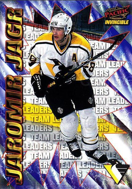 1997-98 Pacific Invincible NHL Regime #220 Jaromir Jagr<br/>1 In Stock - $3.00 each - <a href=https://centericecollectibles.foxycart.com/cart?name=1997-98%20Pacific%20Invincible%20NHL%20Regime%20%23220%20Jaromir%20Jagr...&quantity_max=1&price=$3.00&code=489525 class=foxycart> Buy it now! </a>