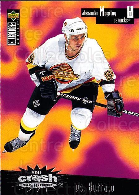 1996-97 Collectors Choice Crash the Game #03C Alexander Mogilny<br/>1 In Stock - $2.00 each - <a href=https://centericecollectibles.foxycart.com/cart?name=1996-97%20Collectors%20Choice%20Crash%20the%20Game%20%2303C%20Alexander%20Mogil...&quantity_max=1&price=$2.00&code=489530 class=foxycart> Buy it now! </a>
