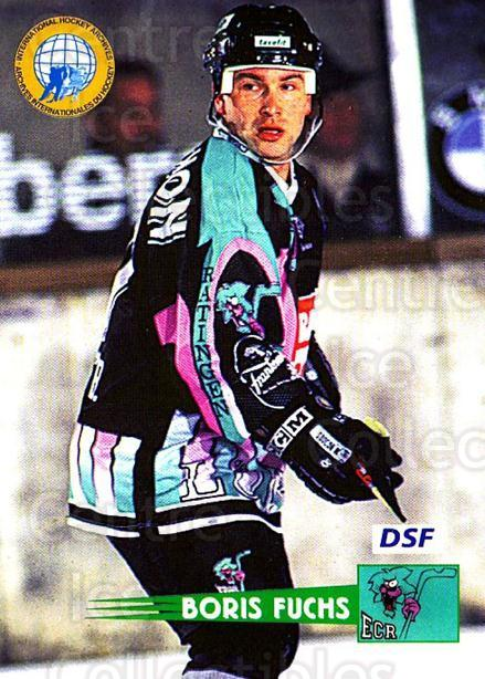 1996-97 German DEL #103 Boris Fuchs<br/>9 In Stock - $2.00 each - <a href=https://centericecollectibles.foxycart.com/cart?name=1996-97%20German%20DEL%20%23103%20Boris%20Fuchs...&price=$2.00&code=48959 class=foxycart> Buy it now! </a>