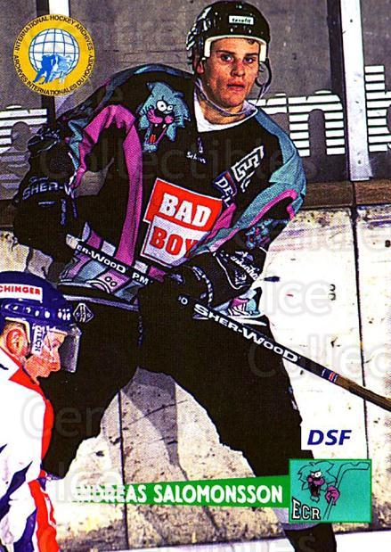 1996-97 German DEL #104 Andreas Salomonsson<br/>4 In Stock - $2.00 each - <a href=https://centericecollectibles.foxycart.com/cart?name=1996-97%20German%20DEL%20%23104%20Andreas%20Salomon...&price=$2.00&code=48960 class=foxycart> Buy it now! </a>