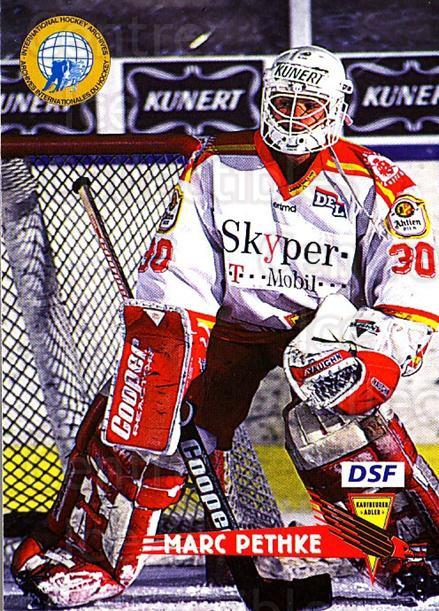 1996-97 German DEL #113 Marc Pethke<br/>7 In Stock - $2.00 each - <a href=https://centericecollectibles.foxycart.com/cart?name=1996-97%20German%20DEL%20%23113%20Marc%20Pethke...&quantity_max=7&price=$2.00&code=48970 class=foxycart> Buy it now! </a>